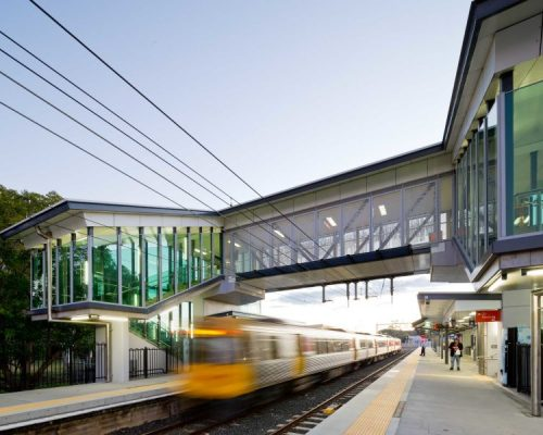 Sandgate Train Station Queensland Rail Upgrade electrical works completed by Taylor Made Electrical