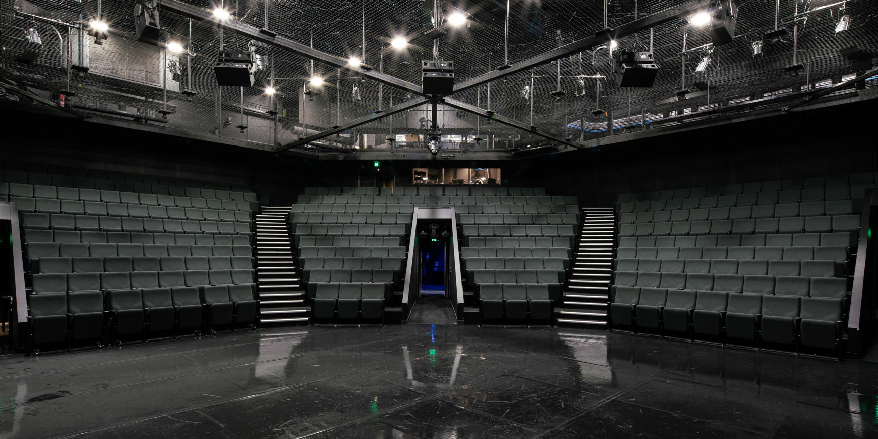 Electrical lighting Queensland Theatre Commercial Project