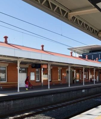 South Brisbane Train Station Upgrade Taylor Made Electrical Electrician completed electrical works