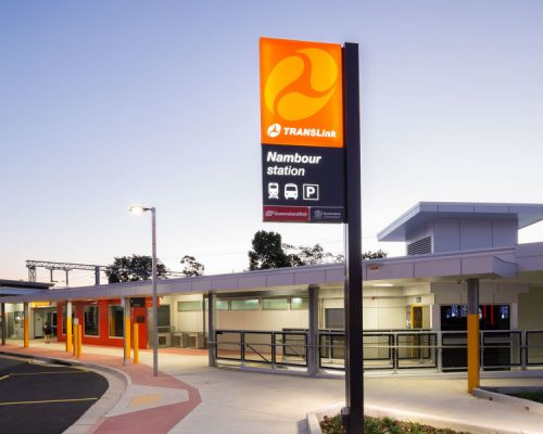 Nambour Train Station Upgrade and electrical works completed by Taylor Made Electrical Sunshine Coast