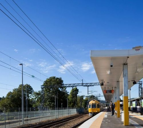 Queensland Rail Nambour Train Station Passage Way Electrical Upgrade done by Taylor Made Electrical