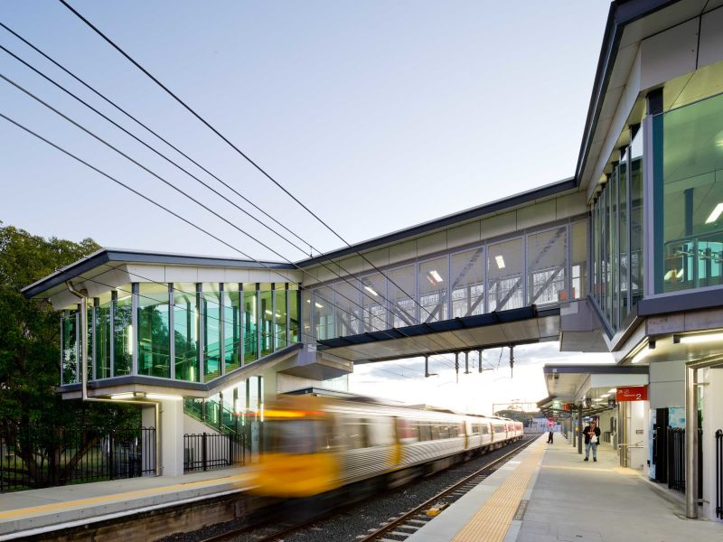 Sandgate Train Station Electrical upgrades completed by Taylor Made Electrical Brisbane