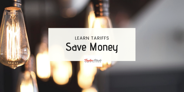 learn tariffs and save money blog image
