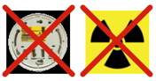 Smoke alarm symbols to avoid