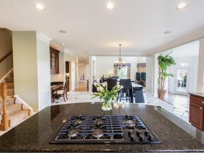Kitchen Lighting and stove top installation